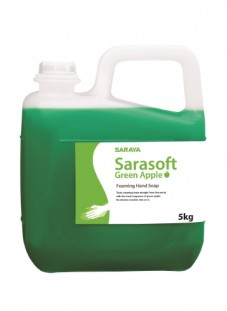 SARAYA Foaming Soap (Green Apple / Fragrance Free)